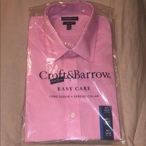 Pink Croft & Barrow Dress Shirt